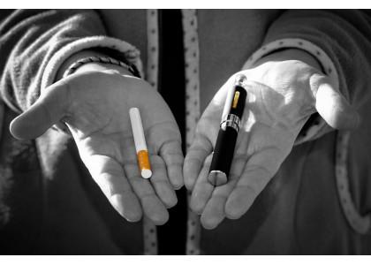 Elektrisch roken is gezonder
