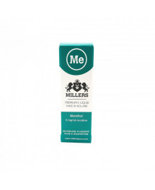 Millers Juice Silverline - Menthol